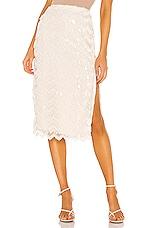 House of Harlow 1960 x REVOLVE Niven Skirt in Ivory