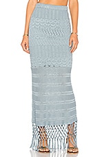 House of Harlow 1960 x REVOLVE Sandra Skirt in Dusty Blue
