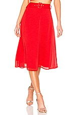 House of Harlow 1960 x REVOLVE Jules Skirt in Racing Red