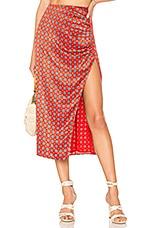 House of Harlow 1960 x REVOLVE Elin Skirt in Red Geo Tile