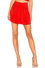 House of Harlow 1960 x REVOLVE Nanda Skirt in Crimson Red