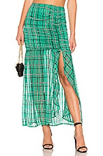 House of Harlow 1960 x REVOLVE Marshall Skirt in Check Shadow Stripe