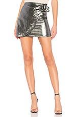 House of Harlow 1960 x REVOLVE Bobbi Skirt in Silver