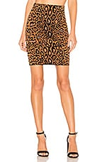 House of Harlow 1960 x REVOVLE Heat It Up Skirt in Leopard
