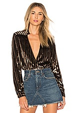 House of Harlow 1960 x REVOLVE Joli Blouse in Bronze