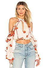 House of Harlow 1960 x REVOLVE Harmony top in Poppy Floral