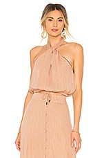 House of Harlow 1960 x REVOLVE Alana Halter in Nude & Black