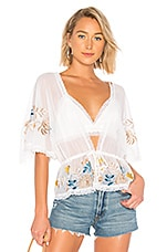 House of Harlow 1960 x REVOLVE Josette Top in Ivory