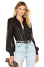 House of Harlow 1960 x REVOLVE Ines Button Down in Noir