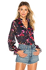 House of Harlow 1960 x REVOLVE Linus Top in Navy Floral