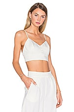 x REVOLVE Bailey V-Neck Bralette in Ivory
