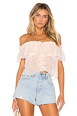 House of Harlow 1960 X REVOLVE Garrett Top in Blush