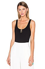 x REVOLVE Wren Tank Bodysuit in Black