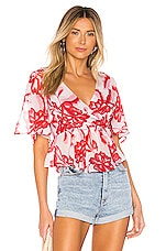 House of Harlow 1960 x REVOLVE Aliza Top in Pink Reims Floral