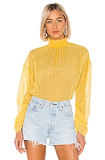 House of Harlow 1960 X REVOLVE Liliana Blouse in Yellow
