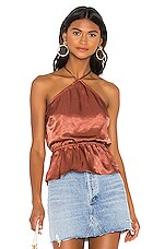 House of Harlow 1960 X REVOLVE Katrien Top in Copper