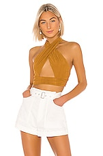 House of Harlow 1960 X REVOLVE Jules Top in Toffee