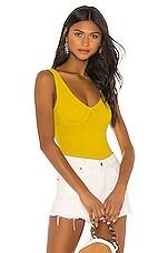 House of Harlow 1960 X REVOLVE Anita Bodysuit in Vibrant Yellow