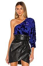 House of Harlow 1960 x REVOLVE Arlen Bodysuit in Sapphire Blue