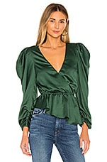 House of Harlow 1960 x REVOLVE Luka Blouse in Emerald