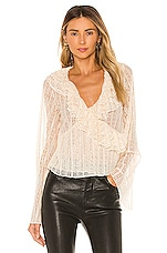 House of Harlow 1960 x REVOLVE Florian Top in Ivory
