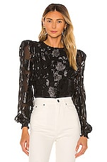 House of Harlow 1960 x REVOLVE Emiliana Blouse in Noir
