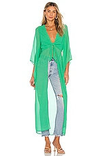House of Harlow 1960 x REVOLVE Isa Maxi Blouse in Kelly Green
