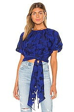 House of Harlow 1960 x REVOLVE Isabel Top in Cobalt