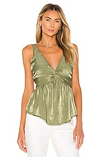 House of Harlow 1960 x REVOLVE Sevina Blouse in Olive Green