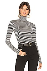 House of Harlow 1960 x REVOLVE Ryan Turtleneck Top in Black & Cream