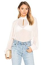House of Harlow 1960 x REVOLVE Bonet Blouse in Pearl