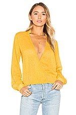House of Harlow 1960 x REVOLVE Joli Blouse in Mustard