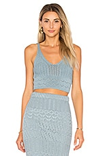 House of Harlow 1960 x REVOLVE Quinn Top in Dusty Blue