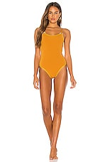 House of Harlow 1960 x REVOLVE Audry One Piece in Golden Glow
