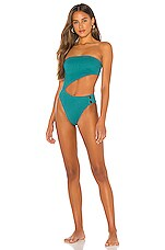 House of Harlow 1960 x REVOLVE Yesenia One Piece in Lagoon