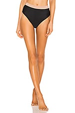 House of Harlow 1960 X REVOLVE Veda High Waist Bottom in Black & Skin
