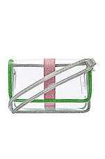 House of Harlow 1960 x REVOLVE Millie Bag in Green Glitter