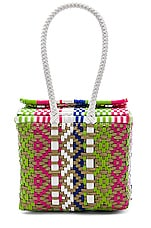 House of Harlow 1960 X REVOLVE Danny Box Bag in Rainbow Multi