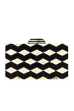 House of Harlow 1960 x REVOLVE Demetri Clutch in Black & White