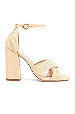 House of Harlow 1960 X REVOLVE Cava Heel in Natural