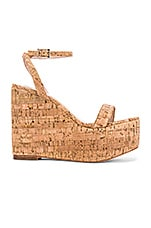 House of Harlow 1960 X REVOLVE Khloe Wedge in Natural Cork
