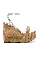 House of Harlow 1960 x REVOLVE Khloe Wedge in Silver