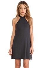 Halter Dress in Black