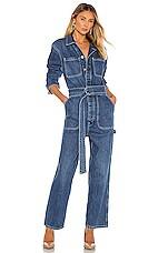 Hudson Jeans Denim Utility Jumpsuit in Tempted