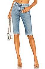 Hudson Jeans Zoeey High Rise Cut Off in Just For Kicks