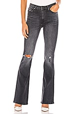 Hudson Jeans Holly High Rise 5 Pocket Flare in Missed Call