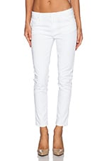 Jude Slouchy Skinny Crop in White 2
