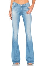 JEAN FLARE TAILLE MOYENNE 5 POCHES MIA