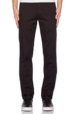 Fulton Chino in Black