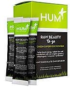 HUM Nutrition Beauty To Go Mint Chocolate Skin & Energy Superfood Powder